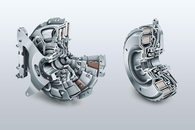 dsg-koppeling gearbox pars and clutch DQ 200 autotransflush