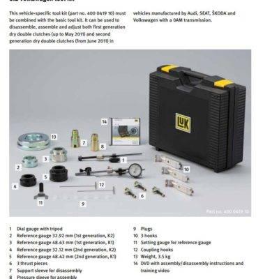DSG DQ200 Clutch replacement tool Volkswagen VAG 400 0419 10